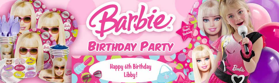 Bộ Khăn Giấy Chủ Đề Barbie (16 khăn cỡ nhỏ)