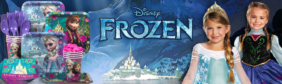 Bộ Khăn Giấy Chủ Đề Frozen (16 khăn cỡ nhỏ)