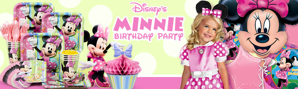 Bộ Khăn Giấy Chủ Đề Minnie Mouse (16 khăn cỡ nhỏ)