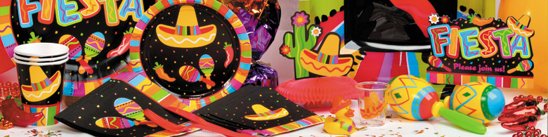 Bộ Khăn Giấy Chủ Đề Fiesta Fun (16 khăn cỡ nhỏ)