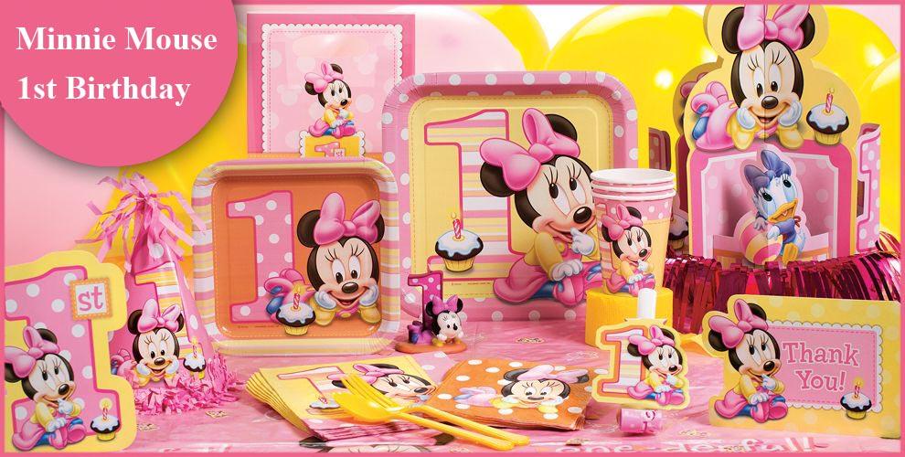 Bộ Khăn Giấy Minnie Mouse 1 Tuổi (16 khăn cỡ nhỏ)