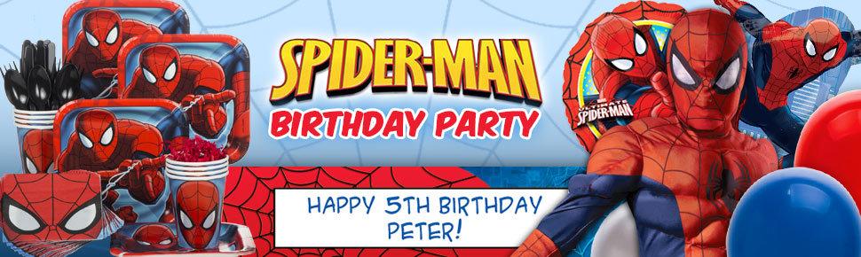 """Bộ Đĩa Giấy Người Nhện """"Spiderman"""" (8 đĩa cỡ lớn)"""